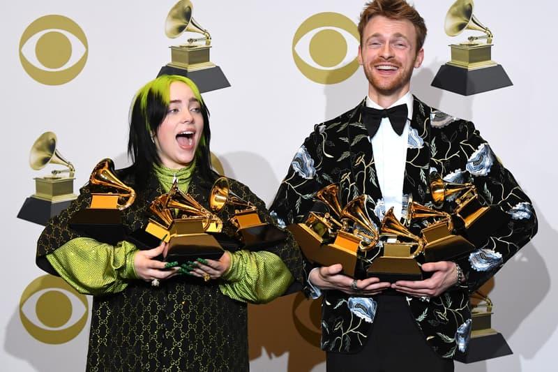 Billie Eilish 2020 Oscars Performance Finneas Grammy Awards Ceremony