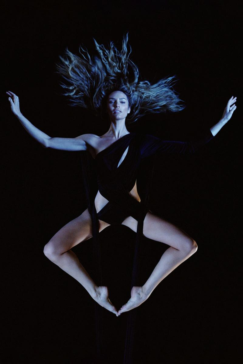 Carine Roitfeld CR Calendar 2020 Candice Swanepoel