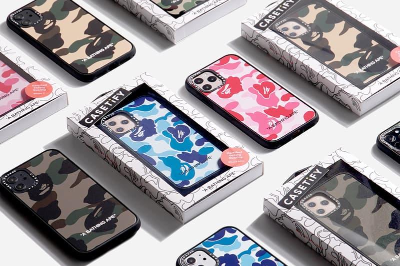 casetify bape a bathing ape collaboration apple iphone 11 pro cases tech accessories