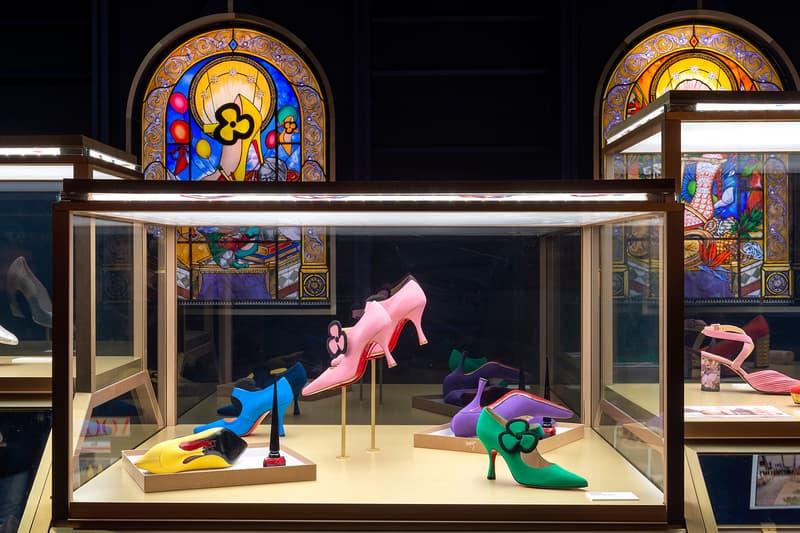 Christian Louboutin, Exhibition[niste] Palais de la Porte Dorée Shoes Display