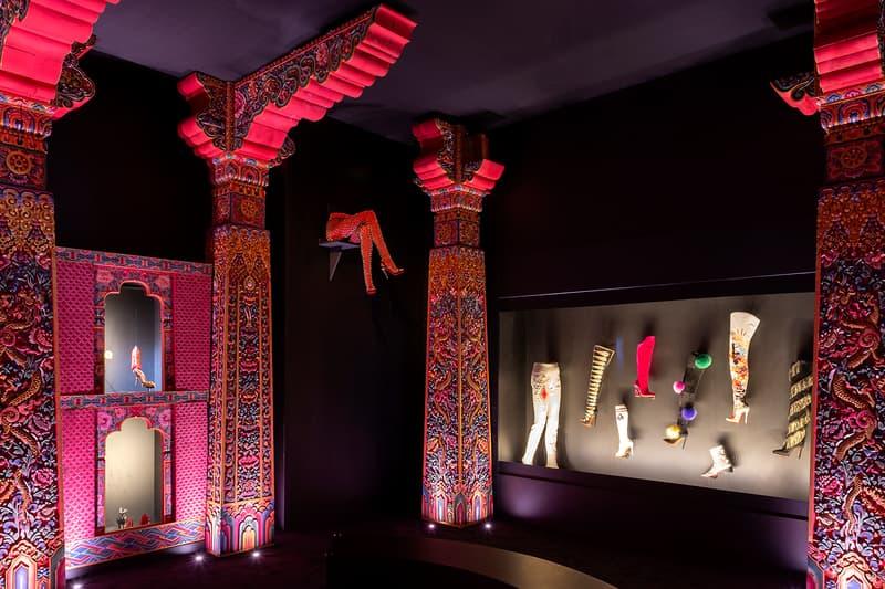 Christian Louboutin, Exhibition[niste] Palais de la Porte Dorée Boots Display
