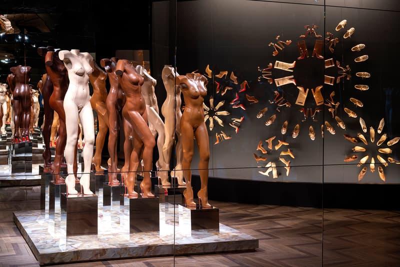 Christian Louboutin, Exhibition[niste] Palais de la Porte Dorée Nude Shoes Display