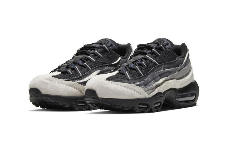 COMME des GARÇONS x Nike Air Max 95 Grey Black Ombre