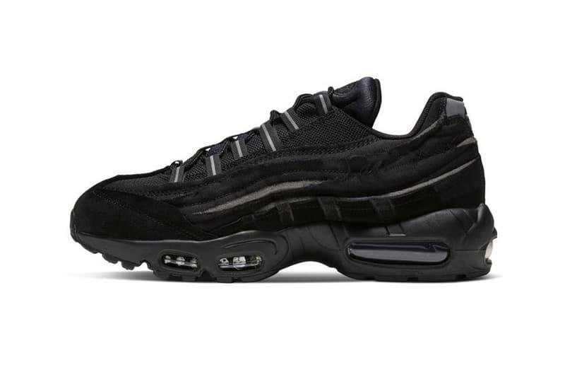 COMME des GARÇONS x Nike Air Max 95 Black