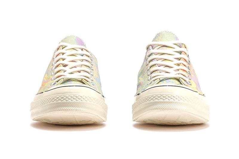 converse chuck 70 ox taylor all star hi sneakers pastel marble