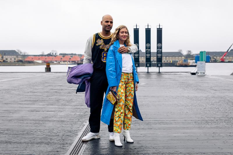 Copenhagen Fashion Week Fall/Winter 2020 Street Style Kobe Bryant