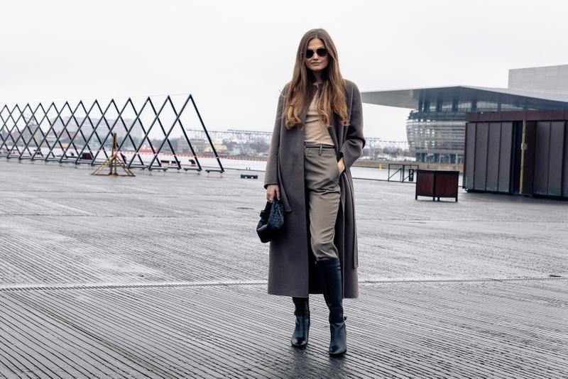 Copenhagen Fashion Week Fall/Winter 2020 Street Style Bottega Veneta