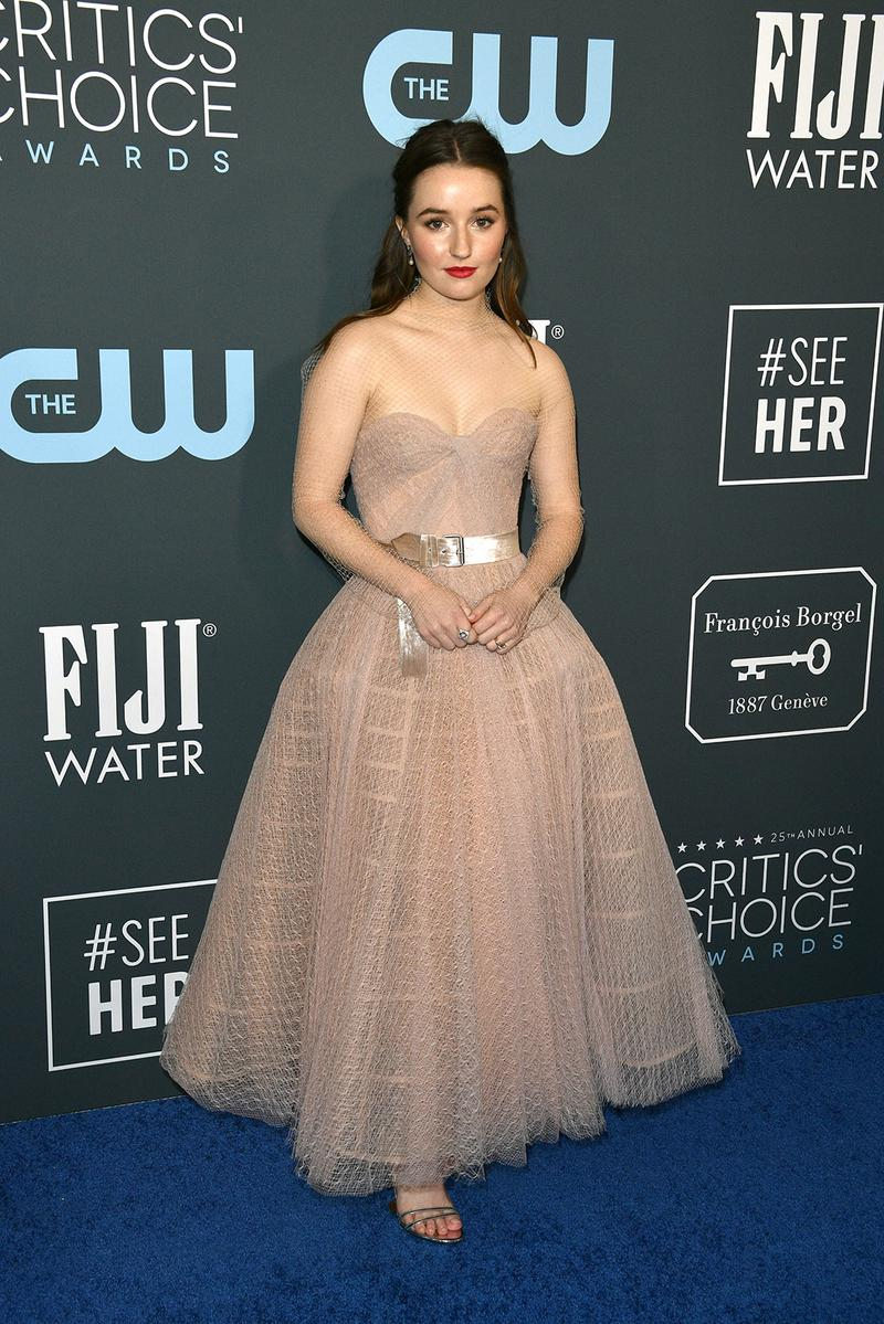 25th critics choice awards best celebrity red carpet looks zendaya saoirse ronan hot pink tom ford dress gown