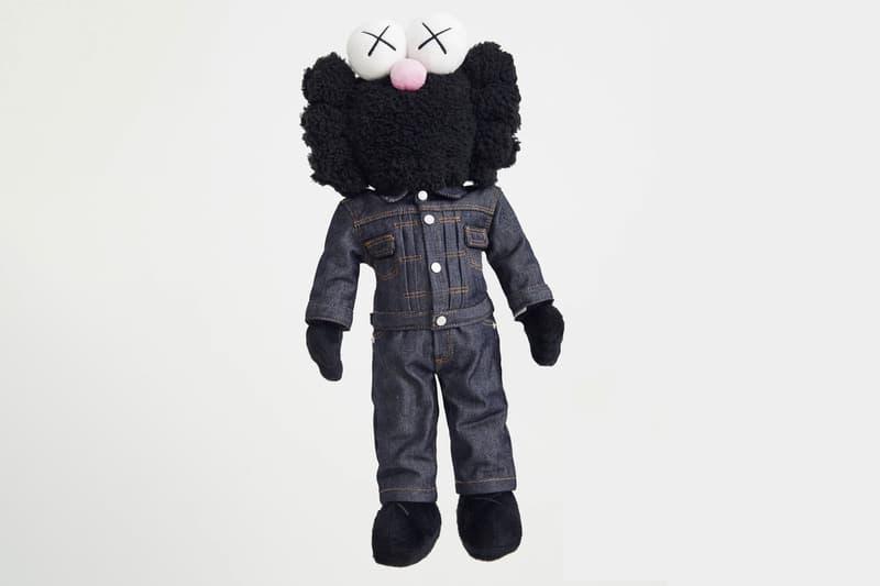 Dior x KAWS Companion Doll Collectors Piece Denim MACHINE-A Collection Price Tag