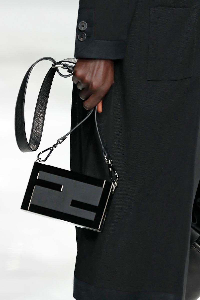 Fendi Fall/Winter 2020 Collection Mini Crossbody Black