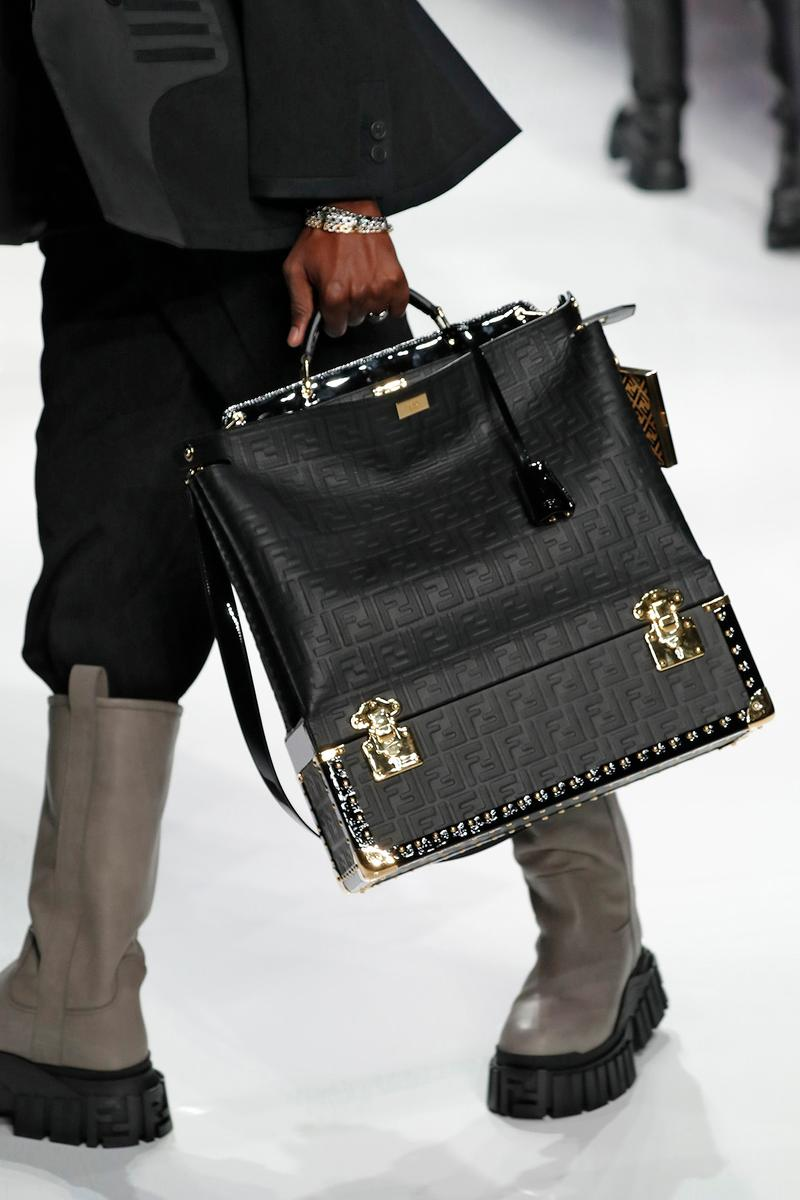 Fendi Fall/Winter 2020 Collection Trunk Tote
