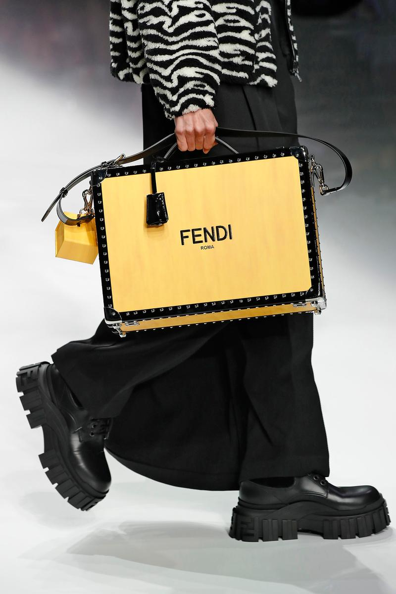 Fendi Fall/Winter 2020 Collection Bags Trunk