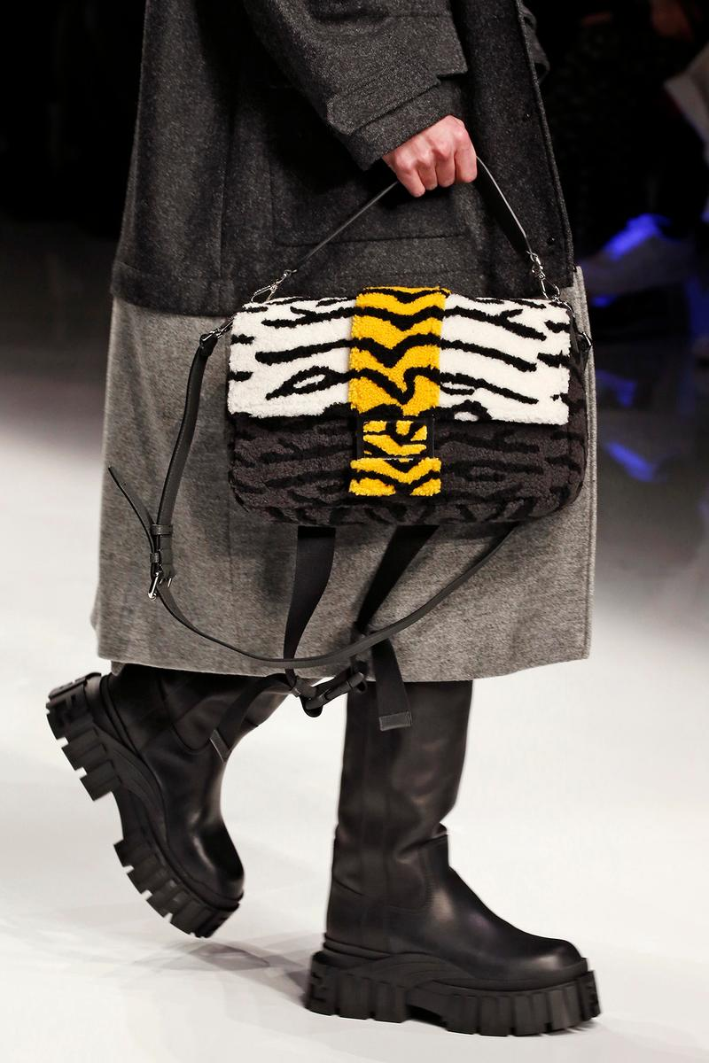 Fendi Fall/Winter 2020 Collection Baguette Zebra