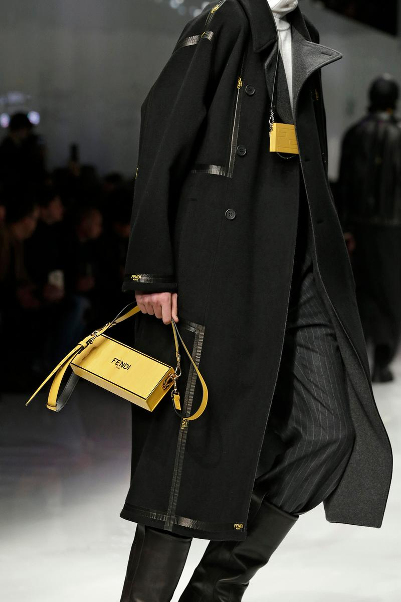 Fendi Fall/Winter 2020 Collection Box Crossbody