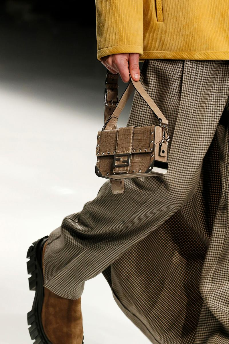 Fendi Fall/Winter 2020 Collection Trunk Baguette
