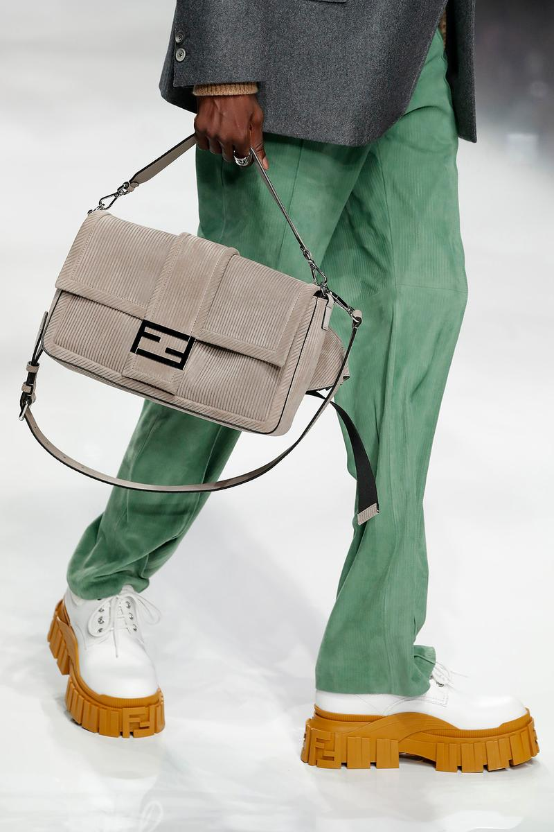 Fendi Fall/Winter 2020 Collection Baguette Beige