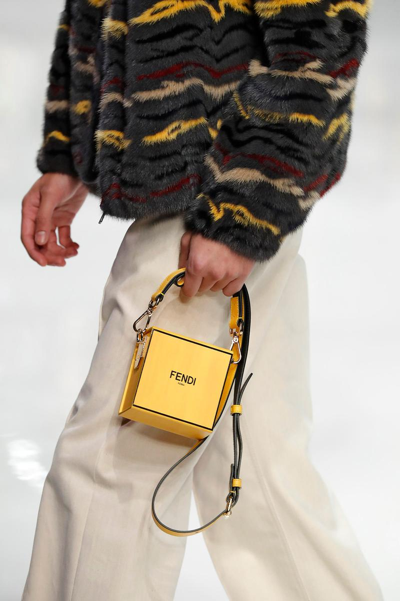 Fendi Fall/Winter 2020 Collection Bags Box Crossbody