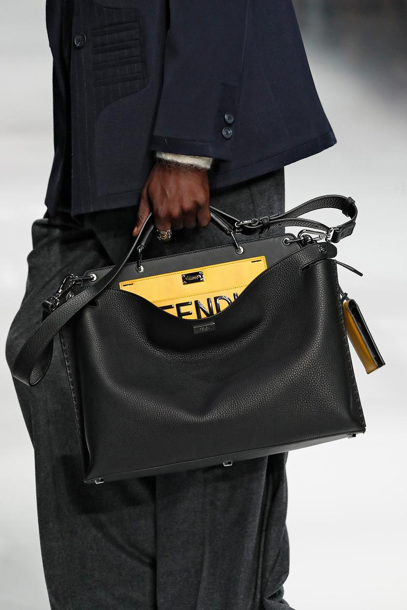 Fendi Fall/Winter 2020 Collection Peekaboo Black