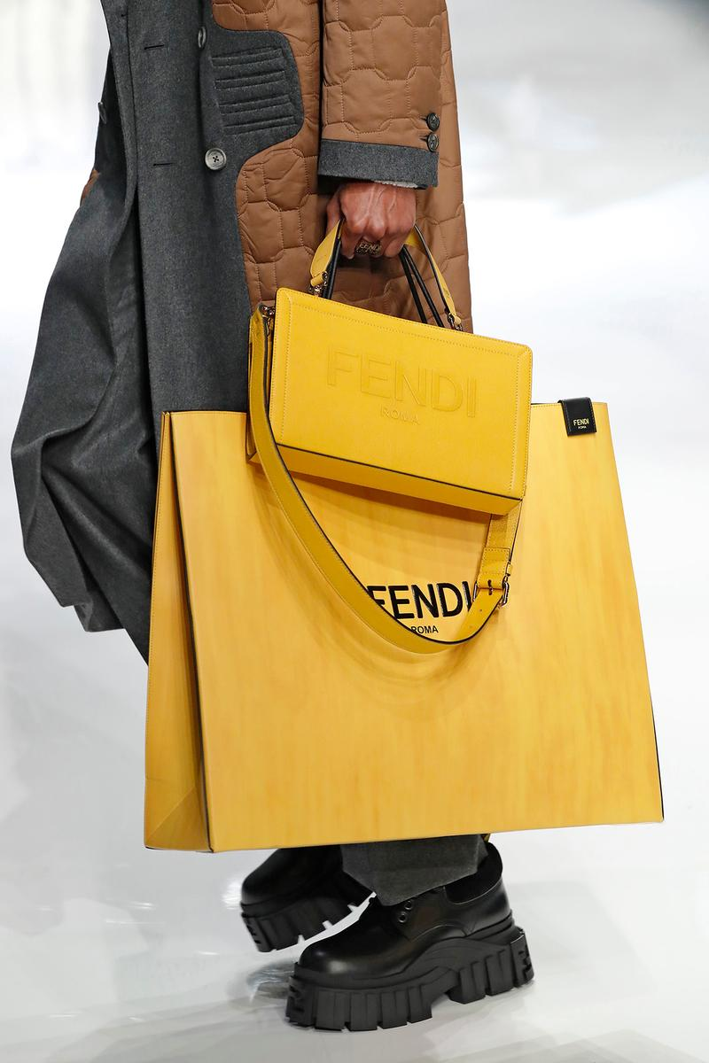 Fendi Fall/Winter 2020 Collection Shopping Bag
