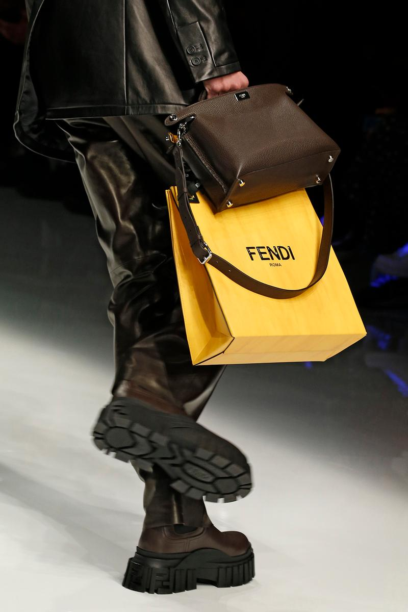 Fendi Fall/Winter 2020 Collection Bags Shopping Bag