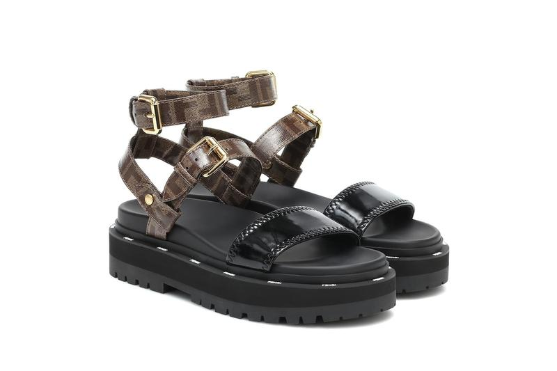 fendi neoprene canvas sandals new season footwear designer shoes
