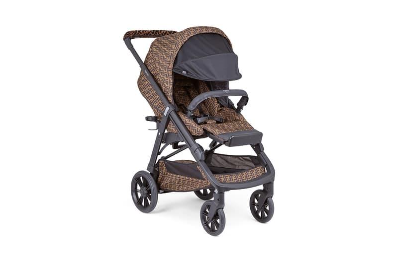 Kylie Jenner's Fendi Baby Stroller & Diaper Bag | HYPEBAE