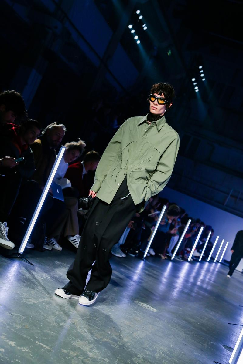 Feng Chen Wang London Fashion Week FW20 Interview Collection Menswear Converse Collaboration