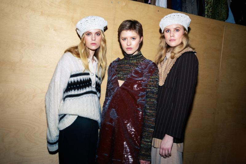 ganni copenhagen fashion week cphfw backstage runway
