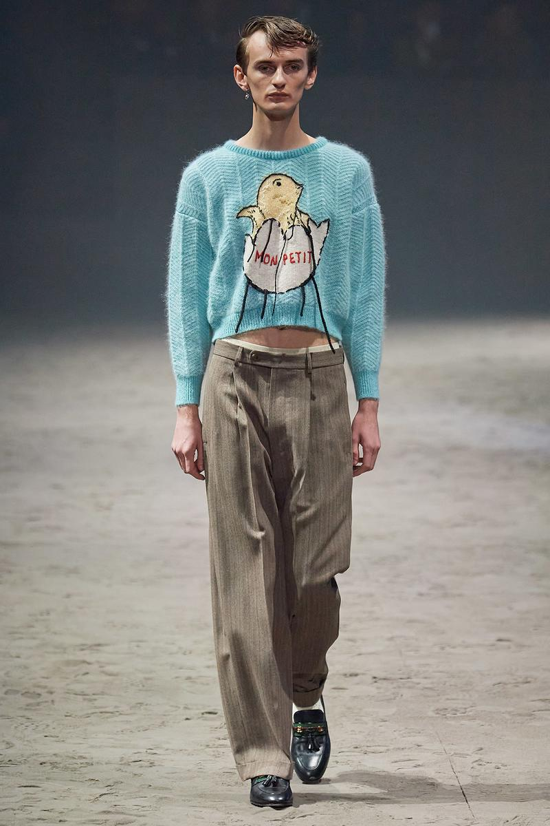 Gucci Fall/Winter 2020 Men's Collection Chick Sweater