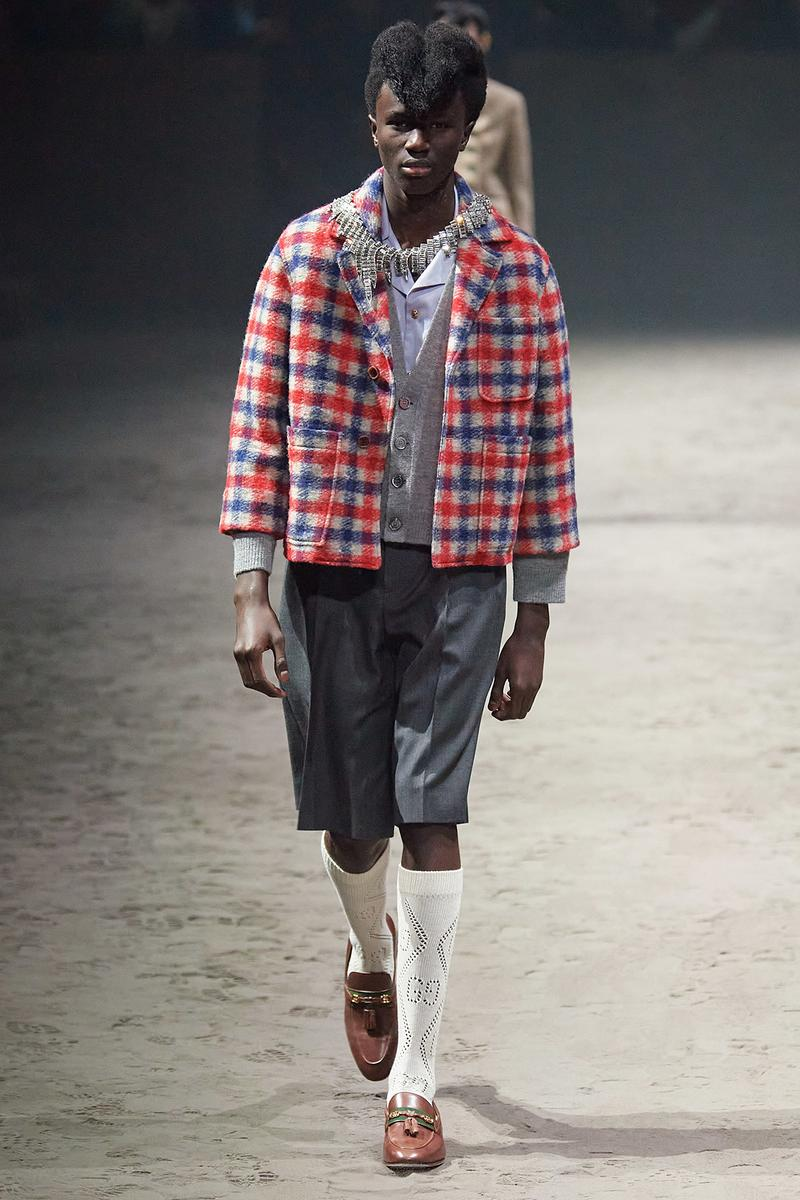 Gucci Fall/Winter 2020 Men's Collection Plaid Jacket