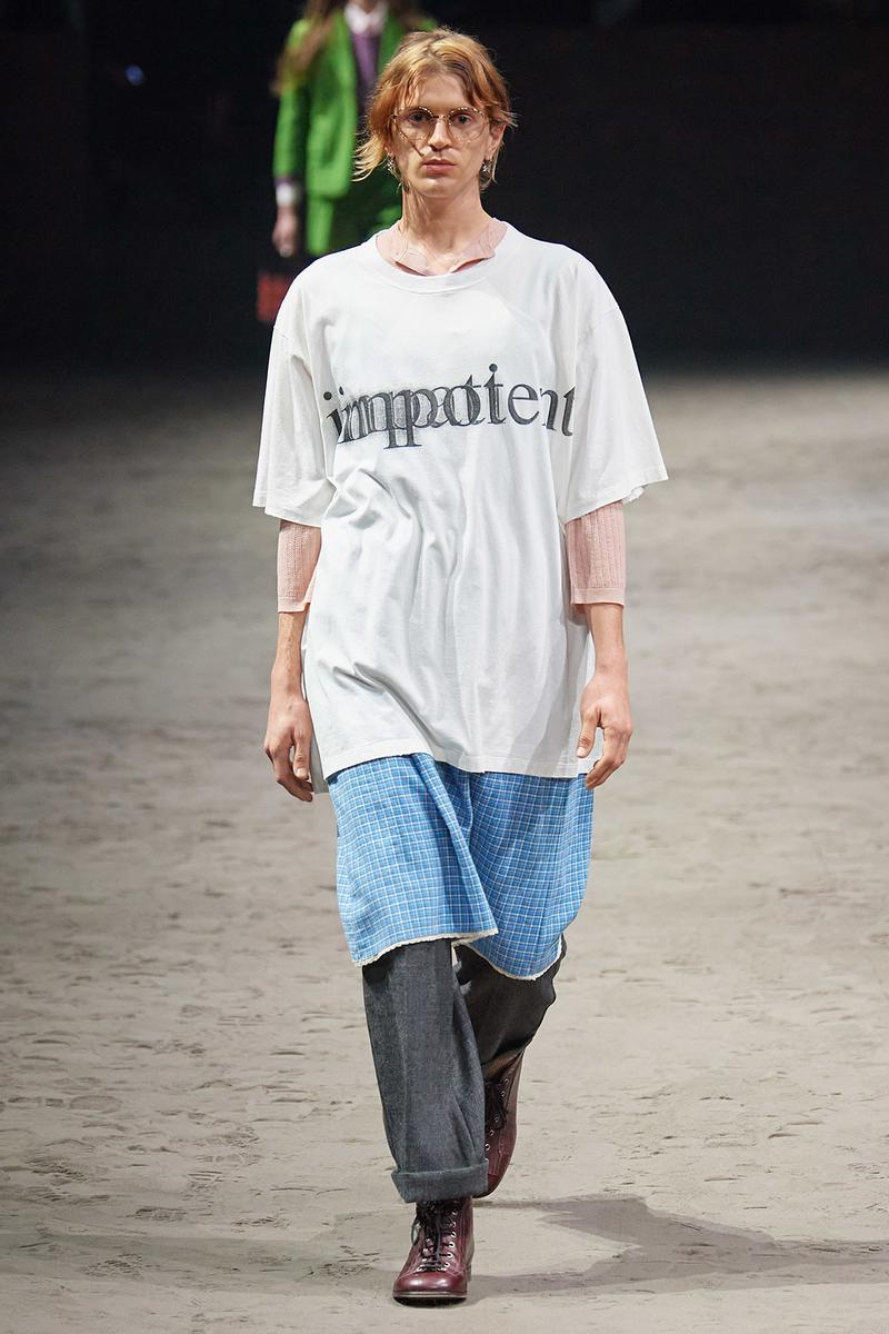 Gucci Fall/Winter 2020 Men's Collection Impotent T-Shirt