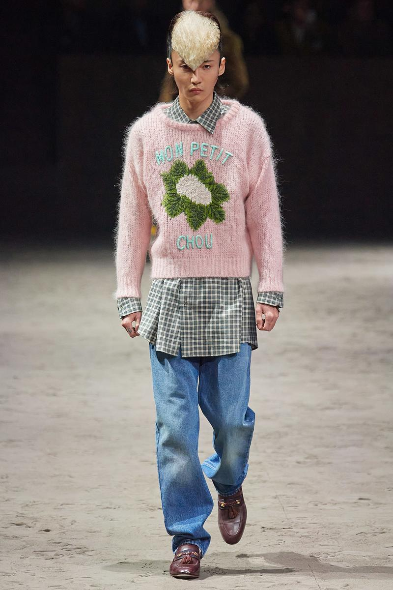 Gucci Fall/Winter 2020 Men's Collection Sweater Pink