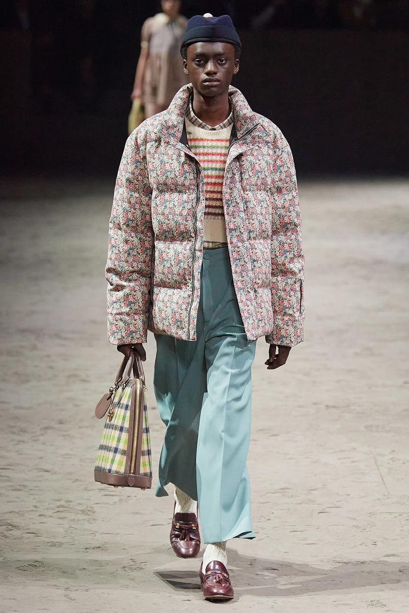 Gucci Fall/Winter 2020 Men's Collection Puffer Jacket