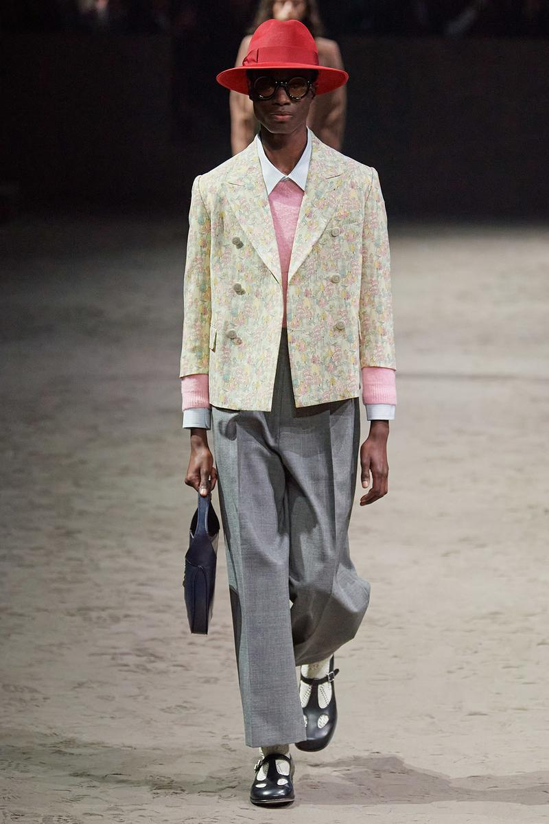 Gucci Fall/Winter 2020 Men's Collection Jacket Floral