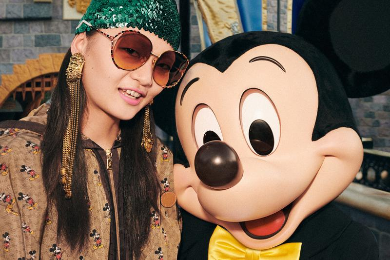 Gucci Mickey Mouse Chinese New Year Collection Campaign Monogram Hoodie Sunglasses