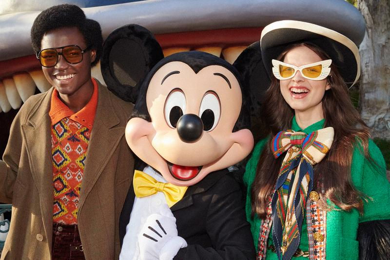 Gucci Mickey Mouse Chinese New Year Collection Campaign