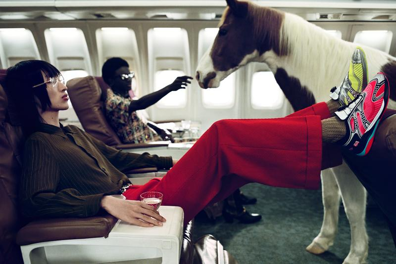 gucci spring summer advertising campaign alessandro michele yorgos lanthimos horses