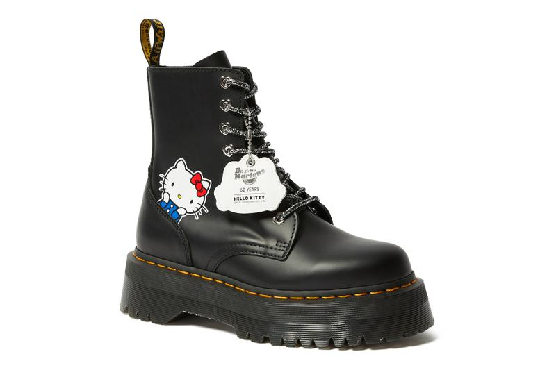 Hello Kitty x Dr. Martens Boots Collaboration Collection Release Sanrio