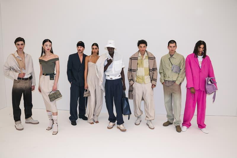 jacquemus simon porte pre fall paris fashion week mens womens collection backstage gigi hadid