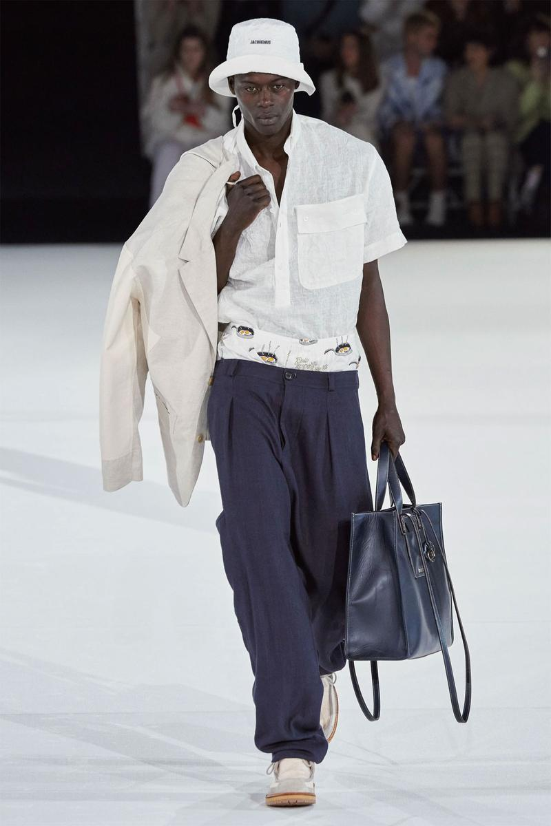 simon porte jacquemus paris fashion week mens pre-fall 2020 fall winter