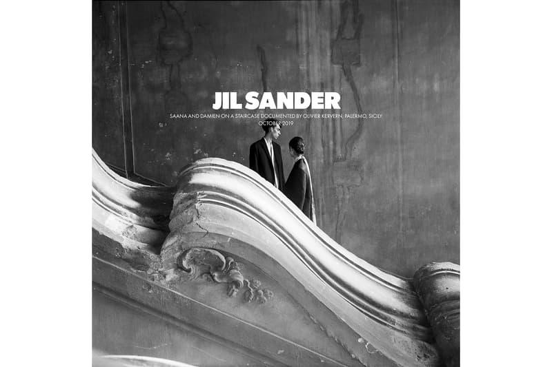 Jil Sander Spring/Summer 2020 Collection Campaign Men's Women's Blazer Shirt