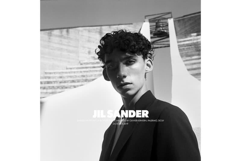 Jil Sander Spring/Summer 2020 Collection Campaign Men's Jacket Black