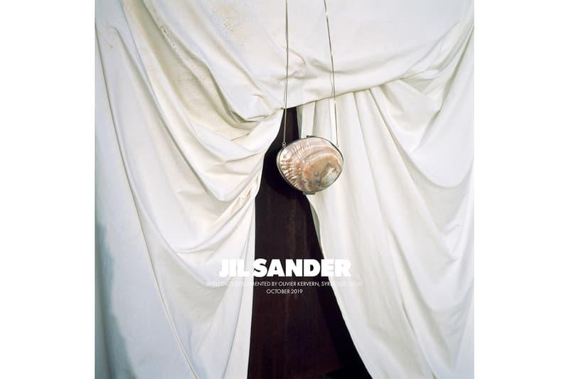 Jil Sander Spring/Summer 2020 Collection Campaign Shell Handbag