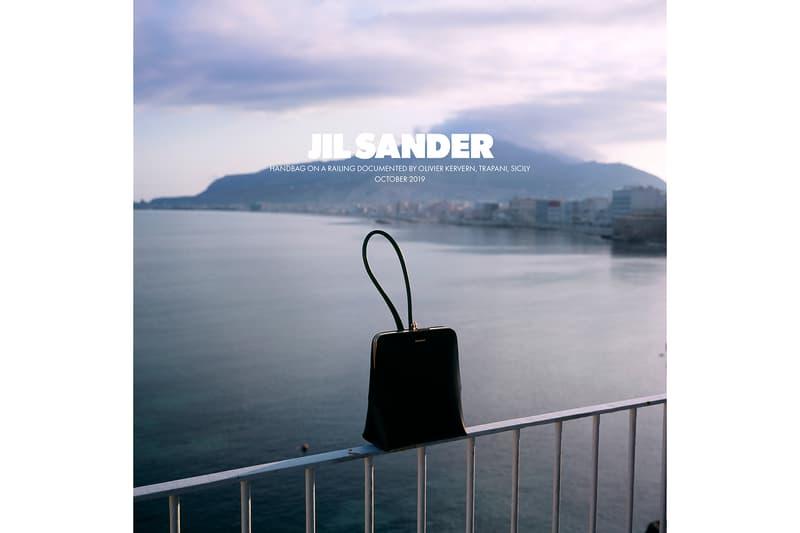 Jil Sander Spring/Summer 2020 Collection Campaign Black Handbag