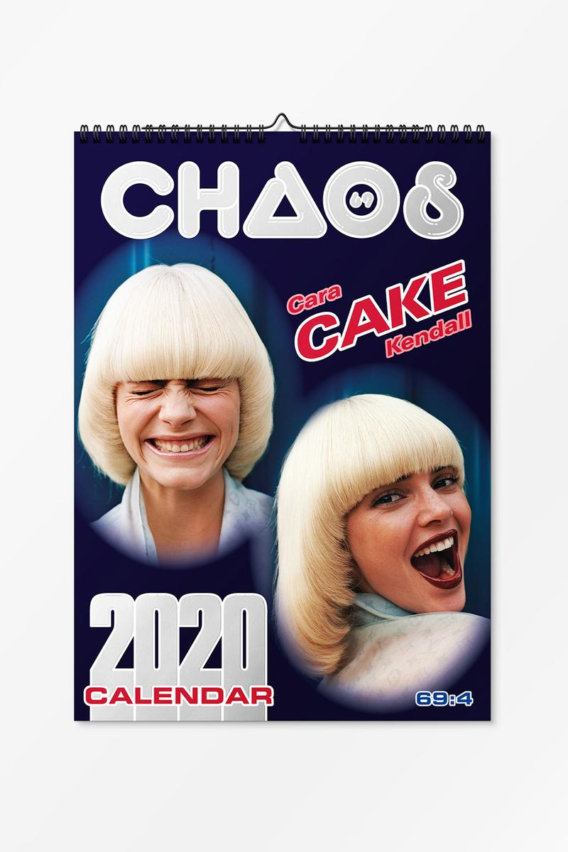 chaos sixtynine kendall jenner cara delevingne 2020 calendar cake recipes editorial