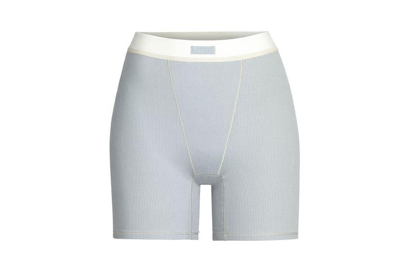 Kim Kardashian SKIMS Cotton Collection Shorts Mineral
