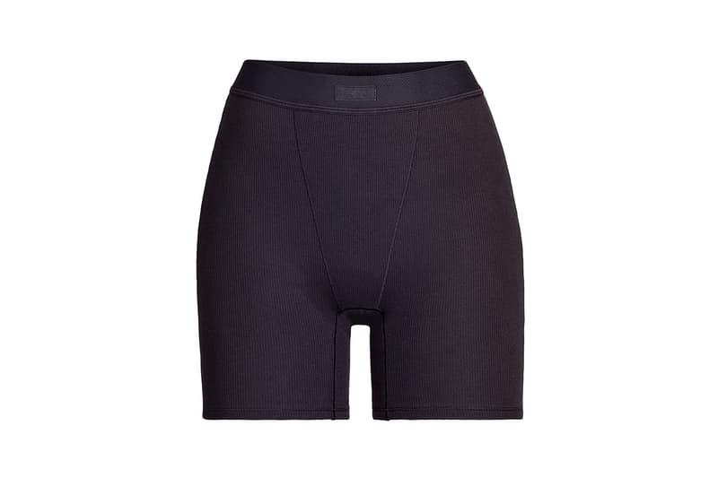 Kim Kardashian SKIMS Cotton Collection Shorts Soot