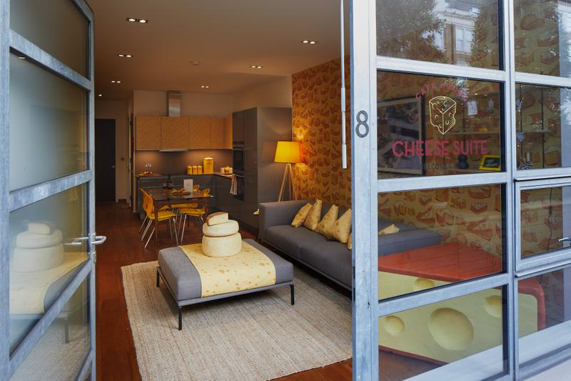 The Cheese Suite Opens Hotel in London Theme Experience