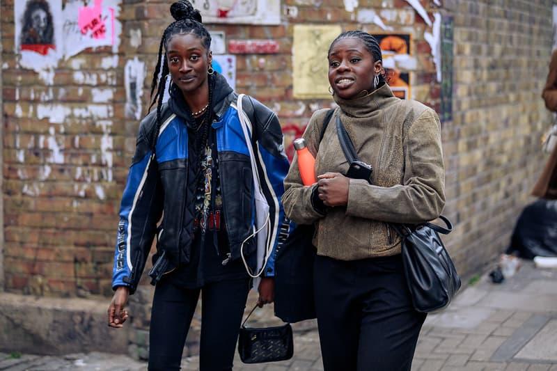 London Fashion Week Men's Fall/Winter 2020 Street Style Jackets