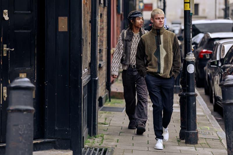 London Fashion Week Men's Fall/Winter 2020 Street Style